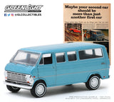 "1:64 Vintage Ad Cars Series 2 - 1968 Ford Club Wagon ""Maybe Your Second Car Should Be More Than Just Another First Car"""