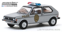1:64 Hot Pursuit Series 34 - 1980 Volkswagen Rabbit - Greensboro, North Carolina Patrol