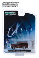 Greenlight 1:64 Hollywood Series 25 : The X-Files (1993-2002 TV Series) - 1981 Chevrolet K-5 Blazer Sheriff