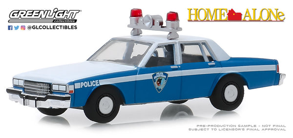 Greenlight 1:64 Hollywood Series 25 : Home Alone (1990) - 1986 Chevrolet Caprice Wilmette, Illinois Police