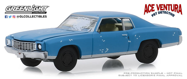 Greenlight 1:64 Hollywood Series 25 : Ace Ventura: Pet Detective (1994) - 1972 Chevrolet Monte Carlo