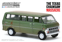 1:64 Hollywood Series 27 - The Texas Chain Saw Massacre (1974) - 1972 Ford Club Wagon