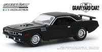 1:64 Hollywood Series 27 - Graveyard Carz (2012-Current TV Series) - 1971 Plymouth 'Cuda 340 (Season 2 - Phantasm 'Cuda)