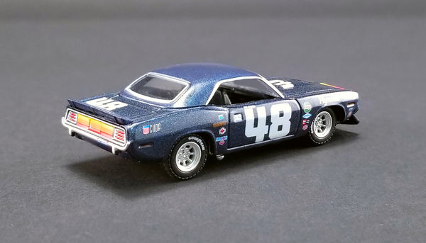 ACME Exclusive 1/64 : #48 1970 PLYMOUTH TRANS AM BARRACUDA