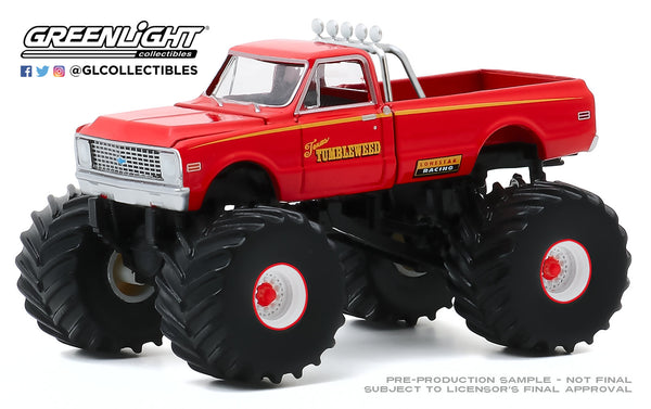 Greenlight 1:64 Kings of Crunch Series 7 - Texas Tumbleweed - 1972 Chevrolet C-10 : Due in Aug