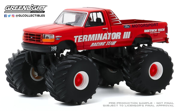 Greenlight 1:64 Kings of Crunch Series 7 - Terminator III - 1993 Ford F-250 : Due in Aug