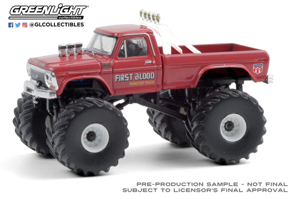 1:64 Kings of Crunch Series 8 - First Blood - 1978 Ford F-250 Monster Truck