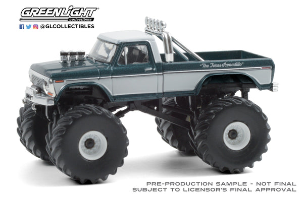 1:64 Kings of Crunch Series 8 - Texas Armadillo - 1979 Ford F-250 Monster Truck