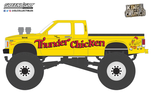 Greenlight 1:64 Kings of Crunch Series 9 - Thunder Chicken - 1989 Chevrolet S-10 Extended Cab Monster Truck