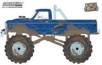 Greenlight 1:64 Kings of Crunch Series 9 - 1970 Chevrolet K-10 Monster Truck USA-1 (Heritage, Dirty Version)