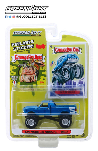 Greenlight 1:64 Garbage Pail Kids Series 1 : Buck Truck - 1995 Modified Monster Truck