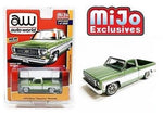 MiJo Exclusive : Auto World 1:64 1973 Chevy Cheyenne Fleetside