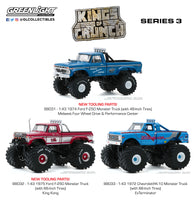 1:43 Kings of Crunch Series 3 : Set of three