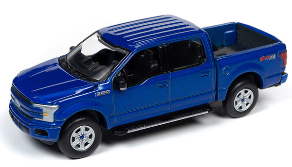 Auto-World 1:64 2018 Ford F-150 Pickup in Lightning Blue