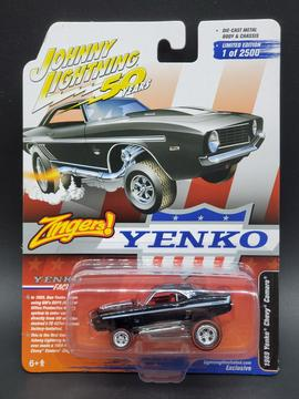 Johnny Lightning Lightning Illustrated Exclusive Yenko Camaro Zinger