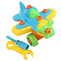 Disassembling Plane Building Blocks Educational Toy