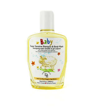 Deserving Health Baby & Kids Super Sensitive Shampoo & Body Wash