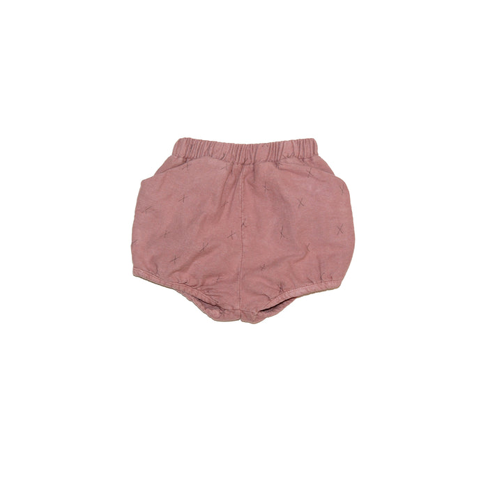 Taupe X's Flannel Bloomers