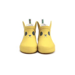 Kerran Yellow Rabbit Rain Boots