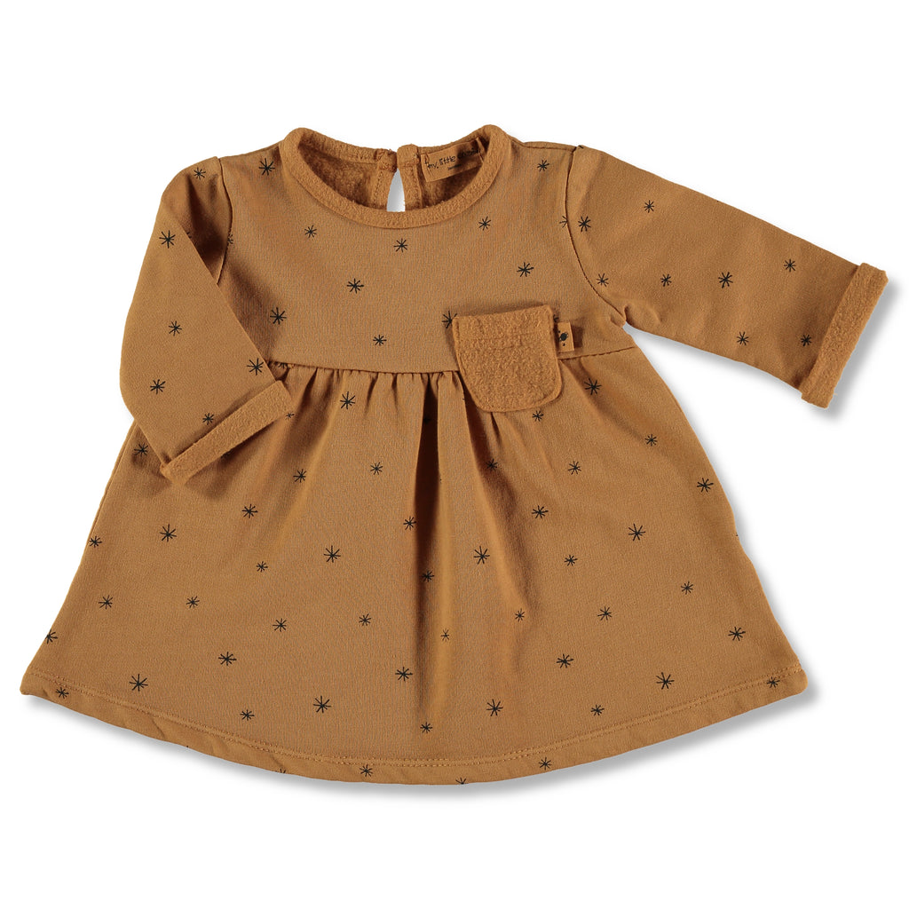 Etoiles Dress- Caramel