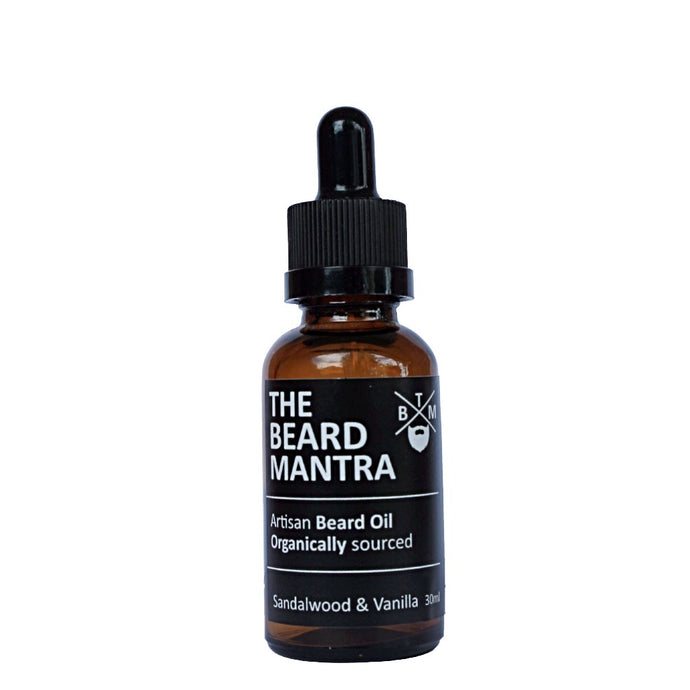 Sandalwood & Vanilla Beard Oil 30ml