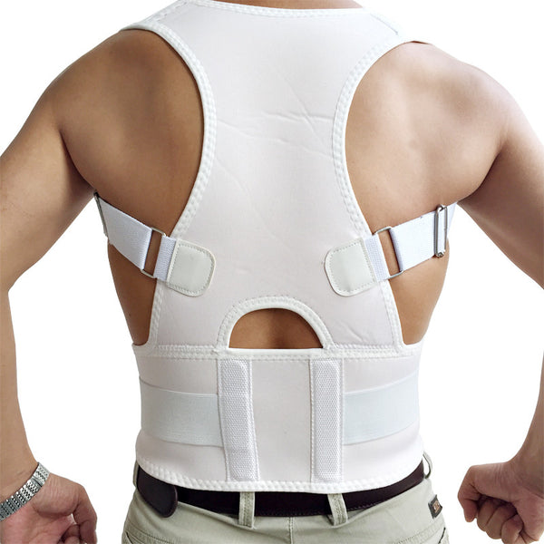 Adjustable back posture and support belt / women & men - CueLoops