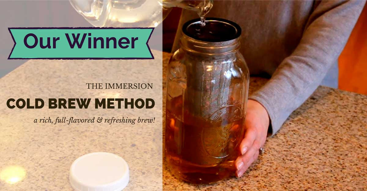 Cold Brew Immersion Method