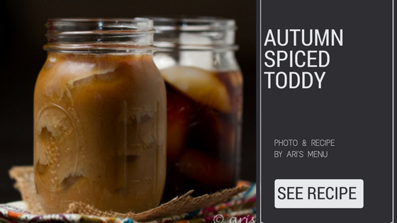 the autumn spiced toddy