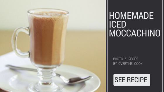 homemade iced moccachino