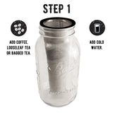 Cold Brew Coffee Maker, Mason Jar Kit