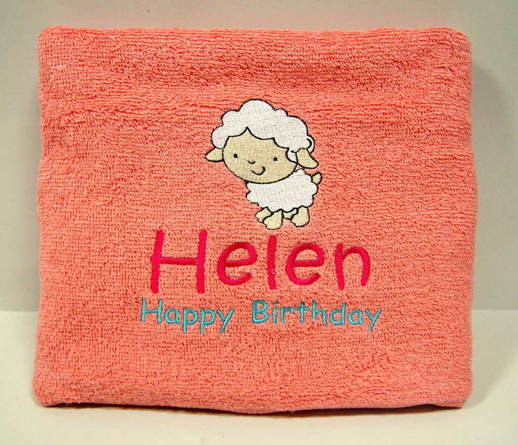 2 Popular Birthday Gifts: Customized towels & cushions