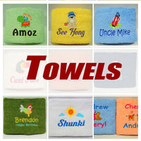 Personalised Towel Embroidery