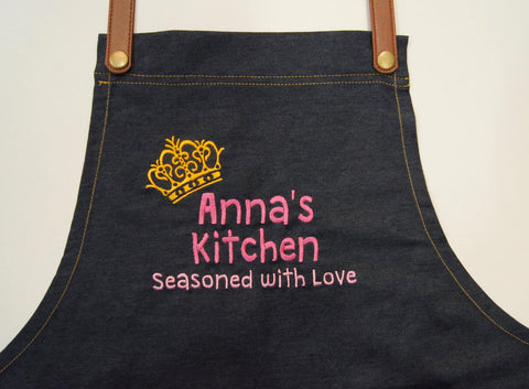 Customzied Denim Apron