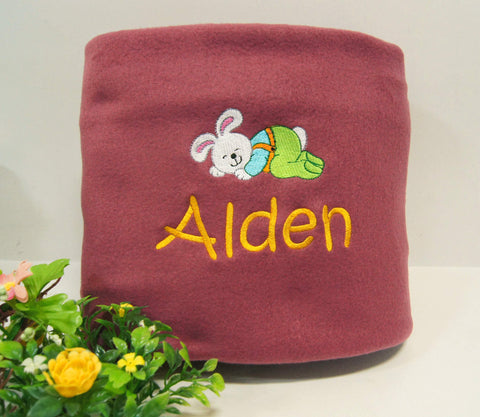 Personalised Baby Blanket with Embroidery