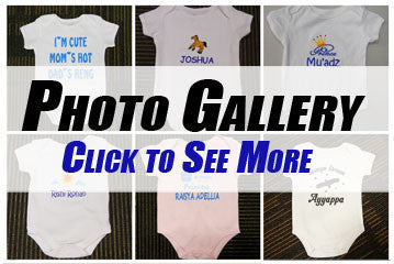 Personalised Baby Romper Photo Gallery