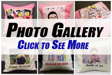 Personalised Photo Cushion Photo Gallery
