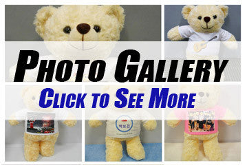Personalised Photo Teddy Bear Photo Gallery