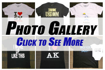 T-Shirt Printing Photo Gallery
