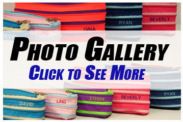 Personalised Zippy Pouch Photo Gallery