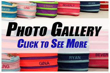 Personalised Zippy Purse Photo Gallery