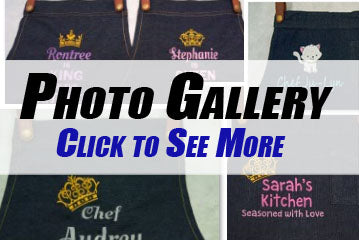 Denim Apron Photo Gallery