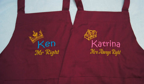 Mr and Mrs Always right design