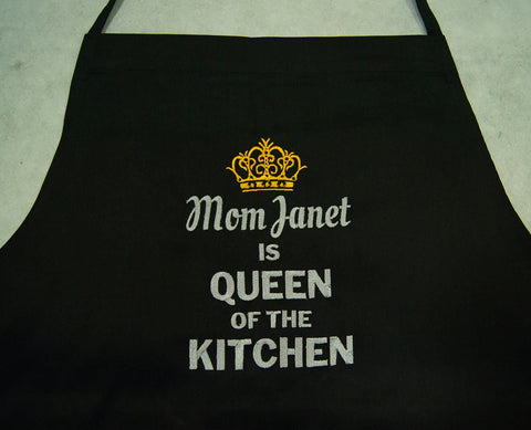 Embroidery Apron for mommy