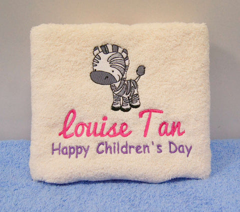childrens day towel