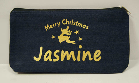Christmas design on pencil case