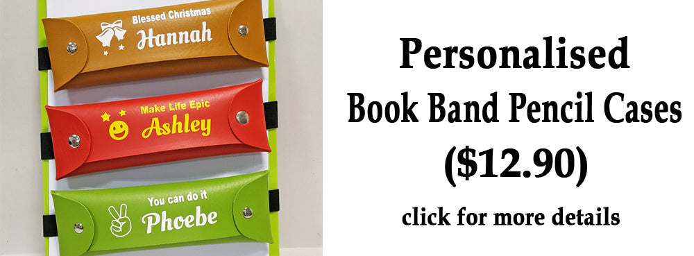 Book Band Pencil Cases