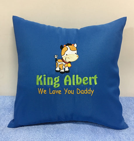 We love you daddy cushion