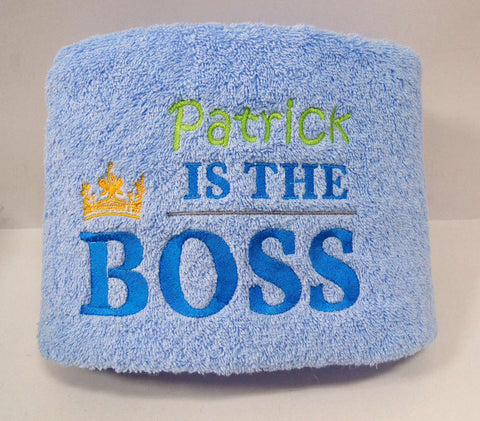 Towel for the boss