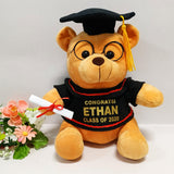 Personalised Graduation Teddy Bear
