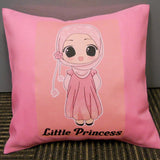Personalised Pink Photo Cushion